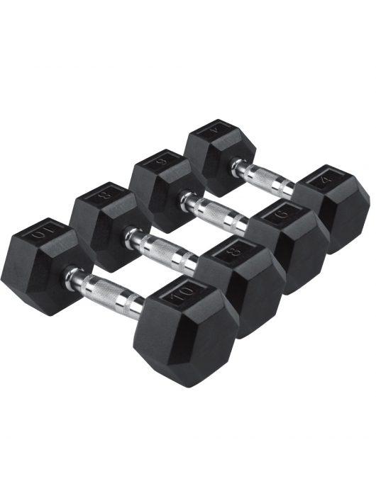 Egykezes hex szett 1-40 kg között (22 pár)