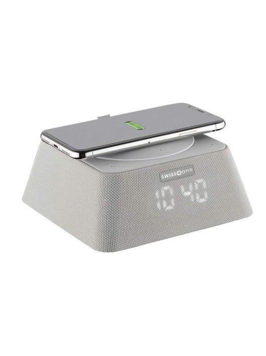 SWISSTONE Q-BOX Bluetooth hangszóró  és powerbank QI töltő