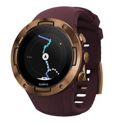 Suunto 5 Burgundy Copper GPS Watch