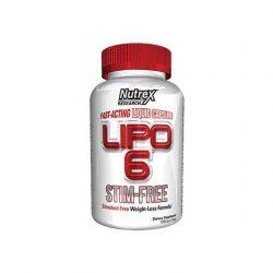 Nutrex Lipo-6 Stim Free Fat burner - 60 caps