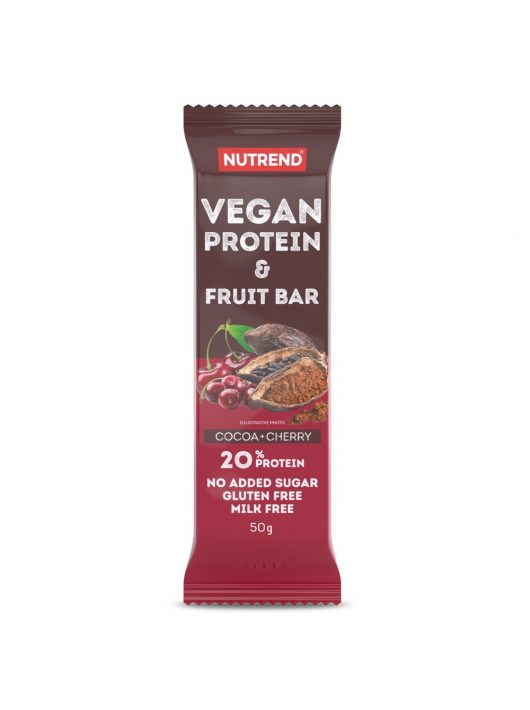 Nutrend Vegan Protein Fruit Bar 50g
