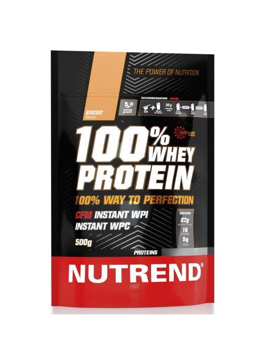 Nutrend 100% Whey Protein - 500g