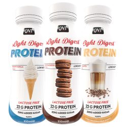 QNT Light Digest Shake 310 ml Cafe Latte
