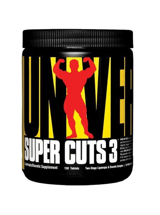 UNIVERSAL Super Cuts 3 - 130 tabletta