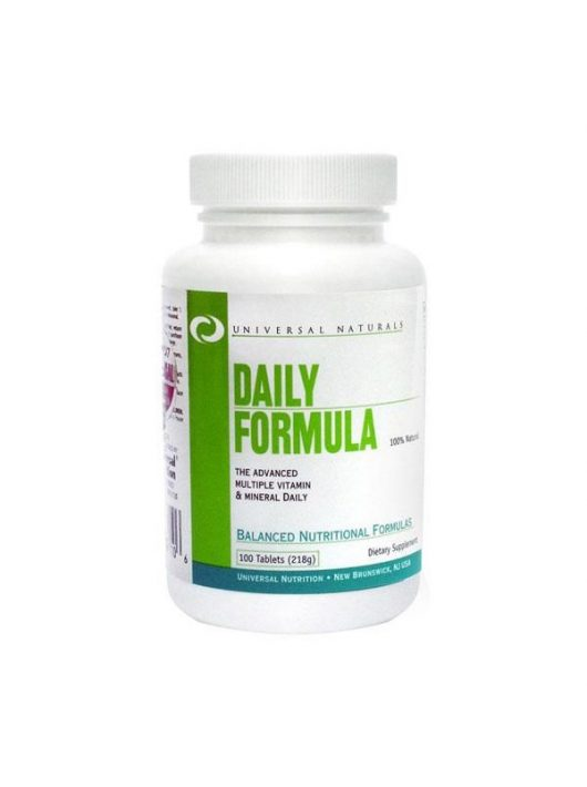 Universal Nutrition Daily Formula - 100 tabletta