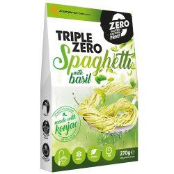 Triple Zero Pasta-Spaghetti with basil