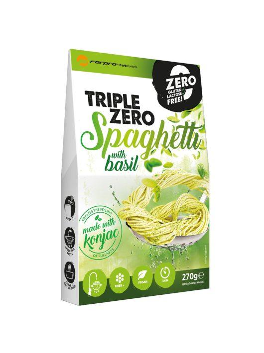 Forpro Triple Zero Pasta - Spaghetti with basil