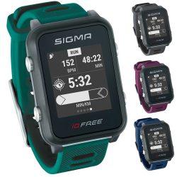 SIGMA iD.FREE GPS pulzusmérő óra