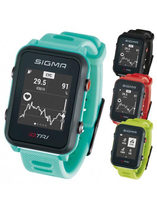 SIGMA iD.TRI GPS Set pulzusmérő óra
