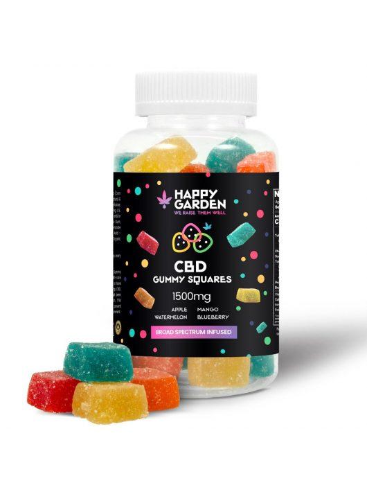 Happy Garden CBD gumicukor - 1500 mg