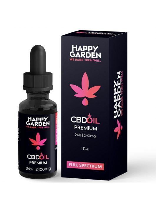 Happy Garden 24% CBD olaj 2400mg - 10 ml