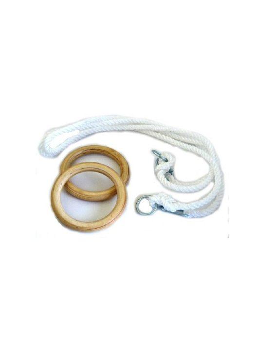 Sport8 gyerek gyűrű kötélszáras 1 m-es kötéllel