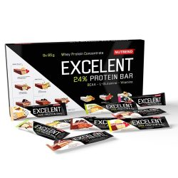 NUTREND Excelent Protein Bar Mix BOX 9 x 85 g