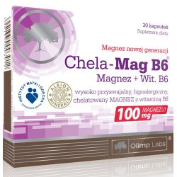 Olimp Chela-Mag B6 - 30 kapszula