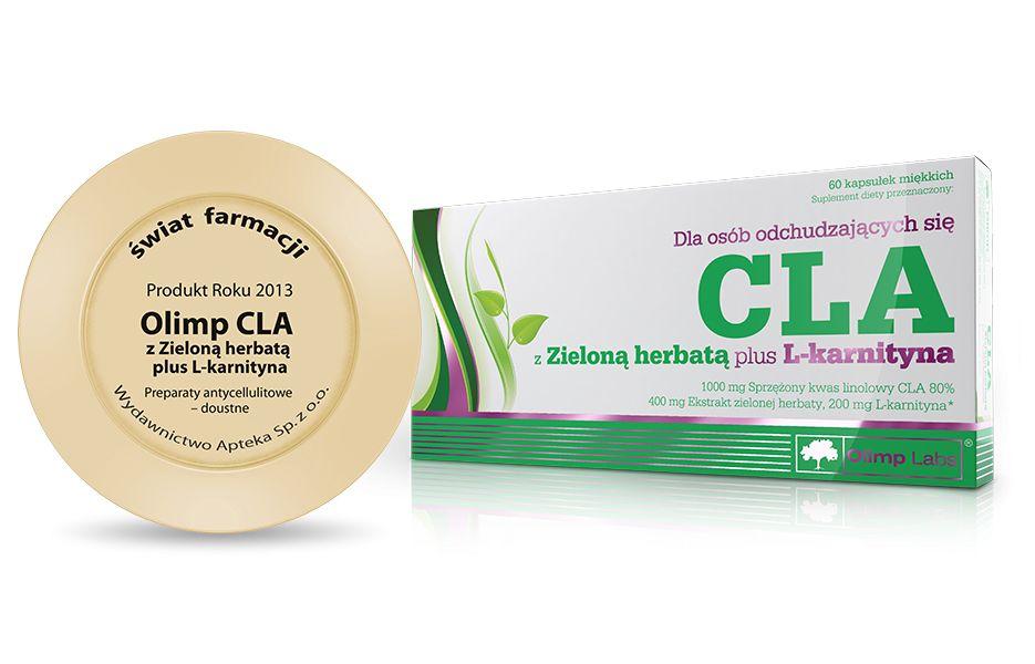 Olimp CLA & green tea zsírégető kapszula  - 2012-ben az év terméke