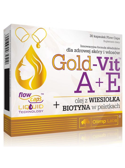 Olimp Gold Vit A + E vitamin 30 kapszula