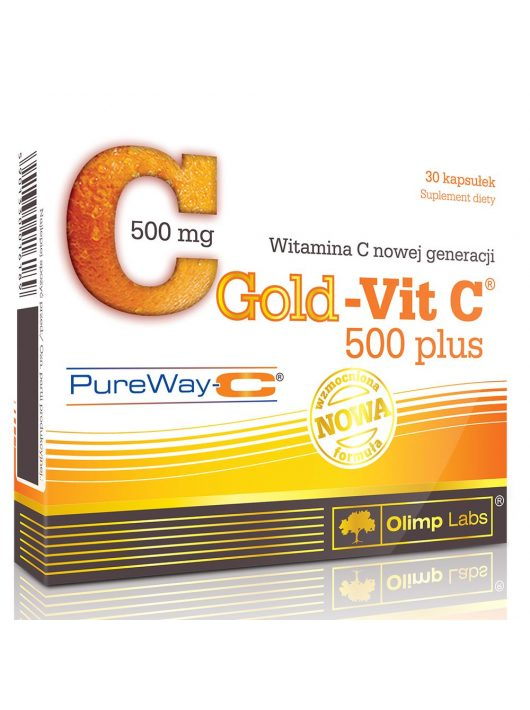 Olimp Labs GOLD-VIT C® 500 PLUS - 30 kapszula