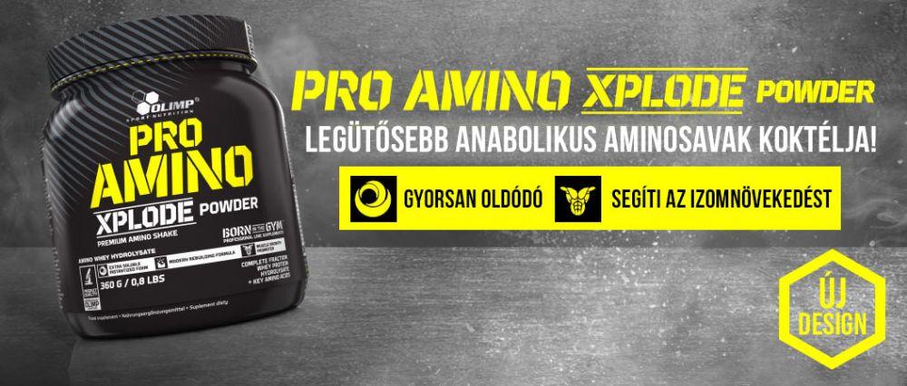 Olimp Pro Amino Xplode aminosav készítmény