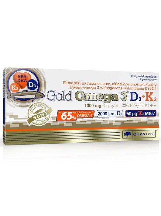 Olimp Gold Omega 3  D3 + K2 - 60 kapszula