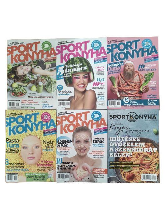 Sportkonyha magazin csomagajánlat - 4 db + 2 db AJÁNDÉK