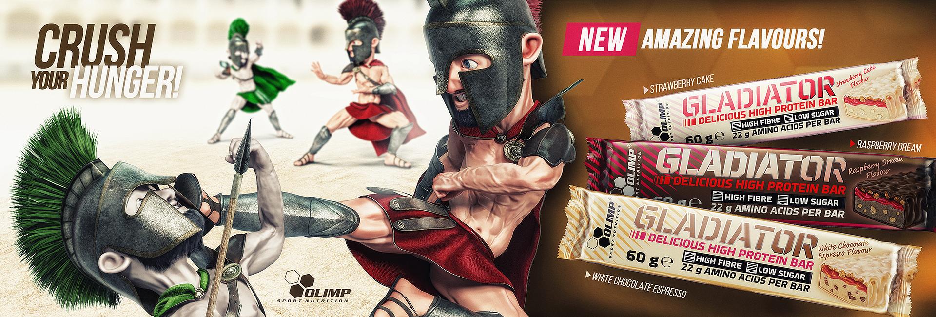 Olimp gladiator fehérje szelet