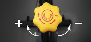 Bh Fitness Spin bike ellenállás állítás