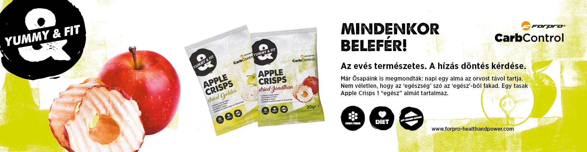Forpor apple crisps