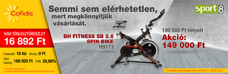 Spin bike kerékpárok Cofidis hitel