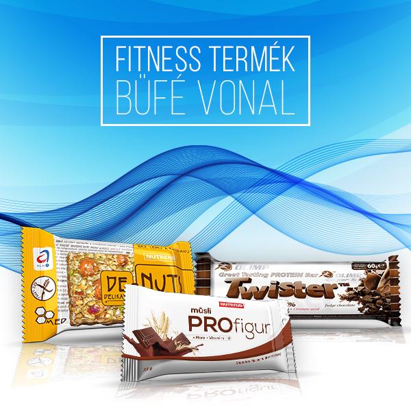 Fitness termék büfé vonal