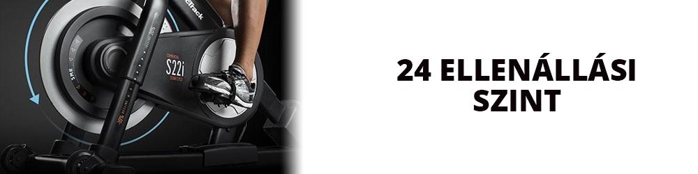 NordicTrack Commercial S22i Studio Cycle ellenállás