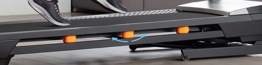 Nordictrack T9.5 futópad rugózat
