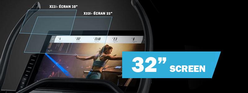 X32i Incline Trainer kijelző