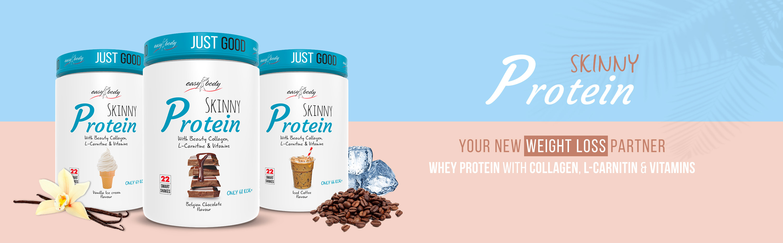 QNT Easy Body Skinny Collagen Protein 450g