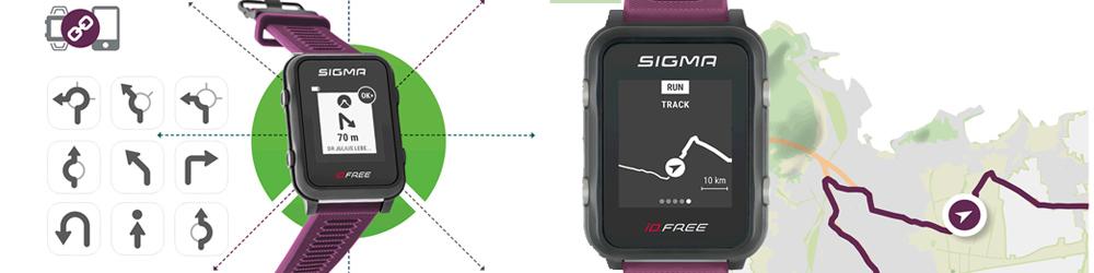 Sigma ID.FREE navigáció