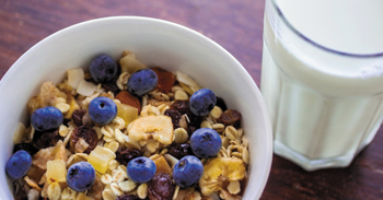 Bajnokok Reggelije - High Protein Muesli with fruits